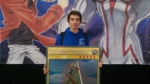 Giant Card winner Luigi Alici
